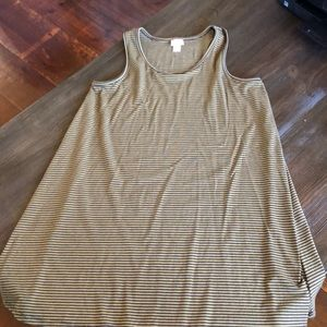 Mossimo tank tunic top